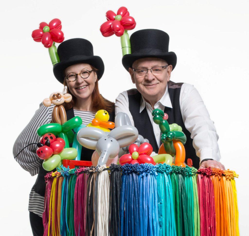 Ballonmodellier-Workshops mit Cordula und Rüdiger Paulsen